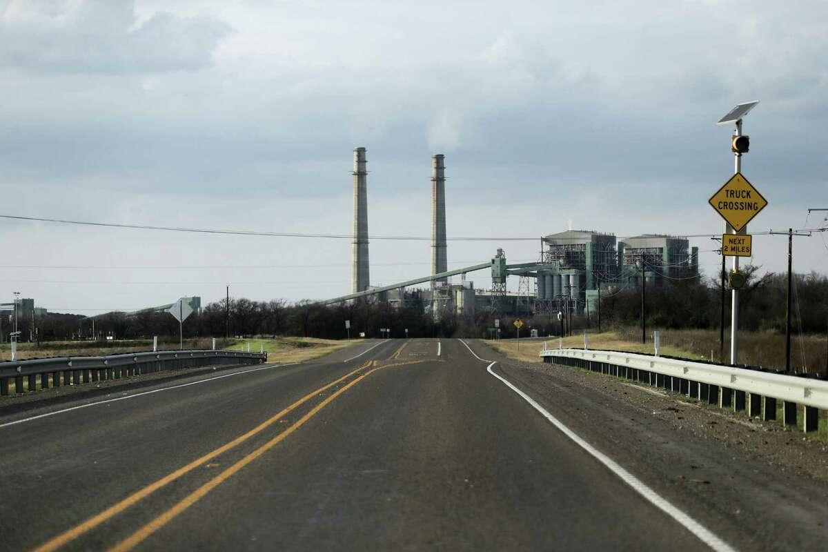 NRG power plant outside of Jewett, Texas.