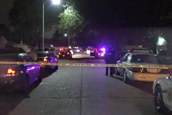 A man was found shot to death about 12:30 a.m. Thursday, Jan. 19, 2017, in the garage at a home the 5900 block of Bihia Forest Drive in northwest Harris County. (Metro Video)