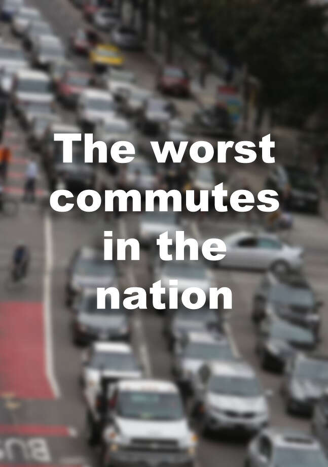 The worst commutes in the nation Photo: The Chronicle