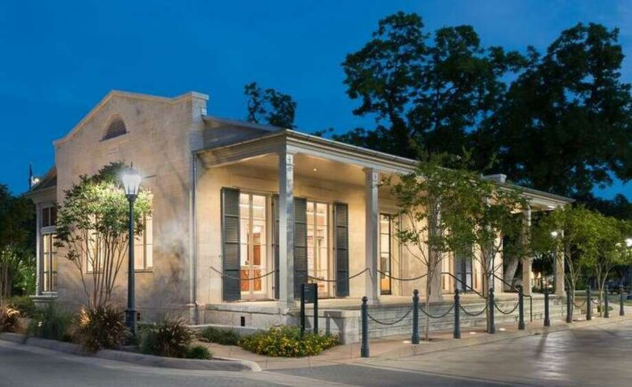 The H-E-B Visitor Center at the Arsenal on South Flores is a renovated building that dates back to the late 1800s. It was once the Officer's Quarters for the Arsenal and is now the jewel box entry point for visitors and vendors meeting with HEB corporate partners. Photo: Courtesy Ford, Powell & Carson