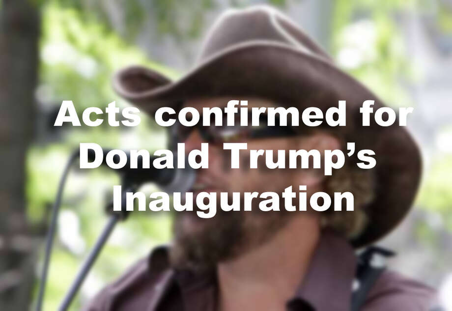 Acts confirmed for Donald Trump's Inauguration Photo: AP