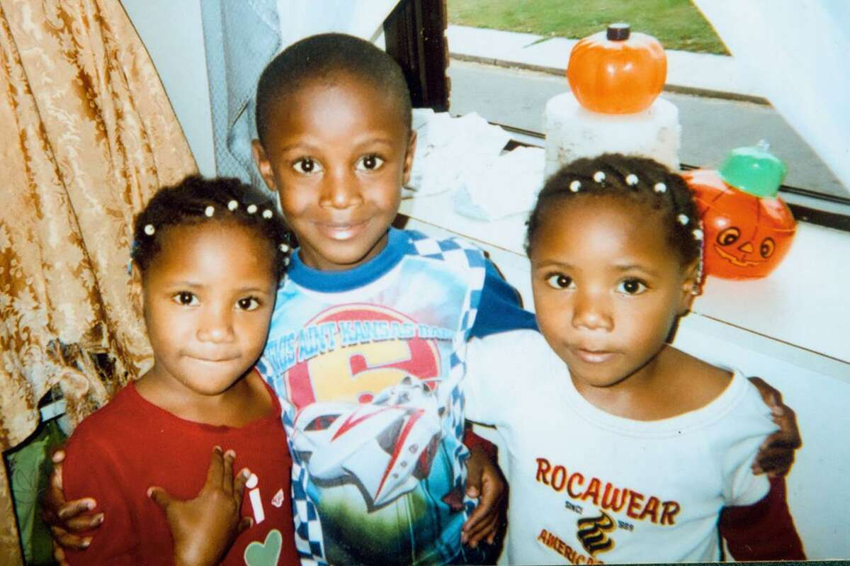 Ny-shon Williams, age 5, and his twin sisters, Tyaisja and Nyaisja Williams, age 4, died of smoke inhalation with their mother, Tiana Black, in an early morning fire at PT Barnum Apartments in Bridgeport on November 13, 2009.