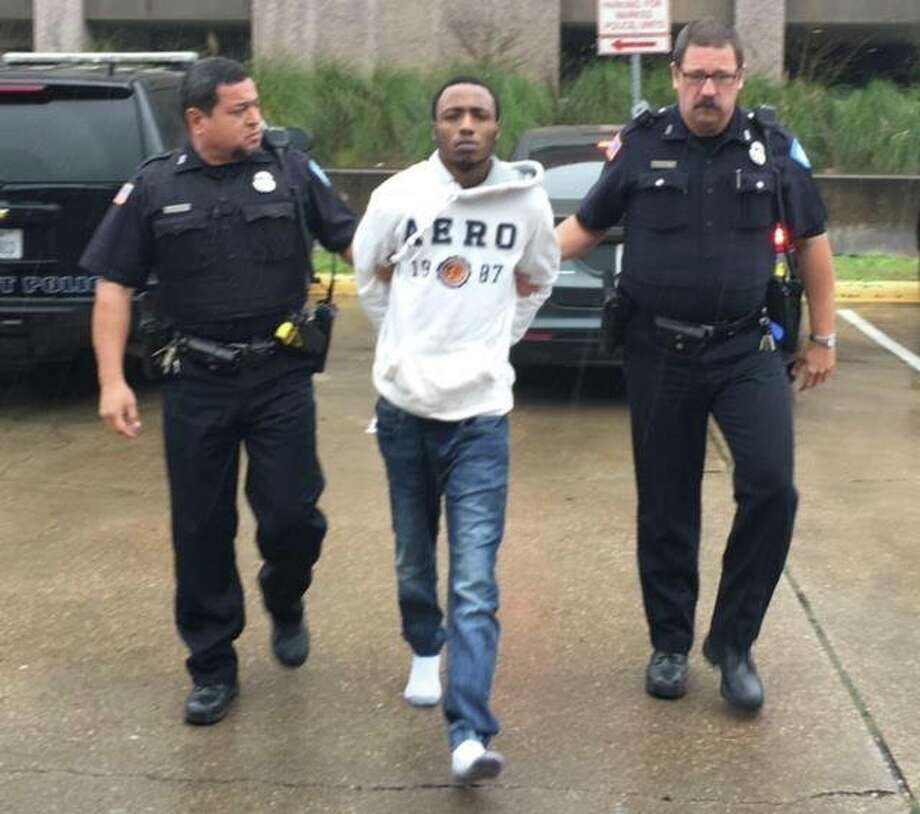 Beaumont police arrested Damarcus Deshun McGhee, 20, of Port Arthur, on Thursday. McGhee is a suspect in the murder of 26-year-old James Jones. (Photo: Beaumont Police/Facebook)