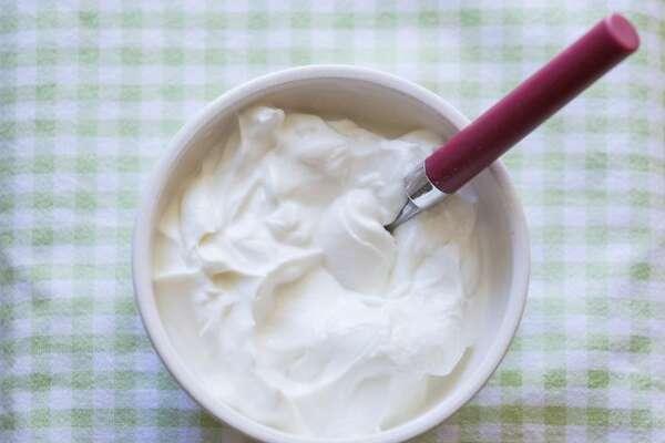 11)  Trader Joe's Vanilla Greek Yogurt     Total Sugar (g): 26  Calories: 200  Carbohydrates (g): 30  Protein (g): 18  Fat (g): 0  Serving Size (g): 227