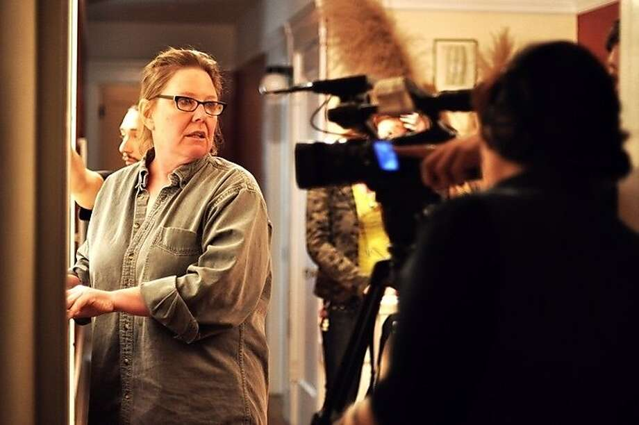 """Lise Swenson, on the set of """"Saltwater"""" in 2013, will be honored posthumously at SF IndieFest. Photo: SF IndieFest"""