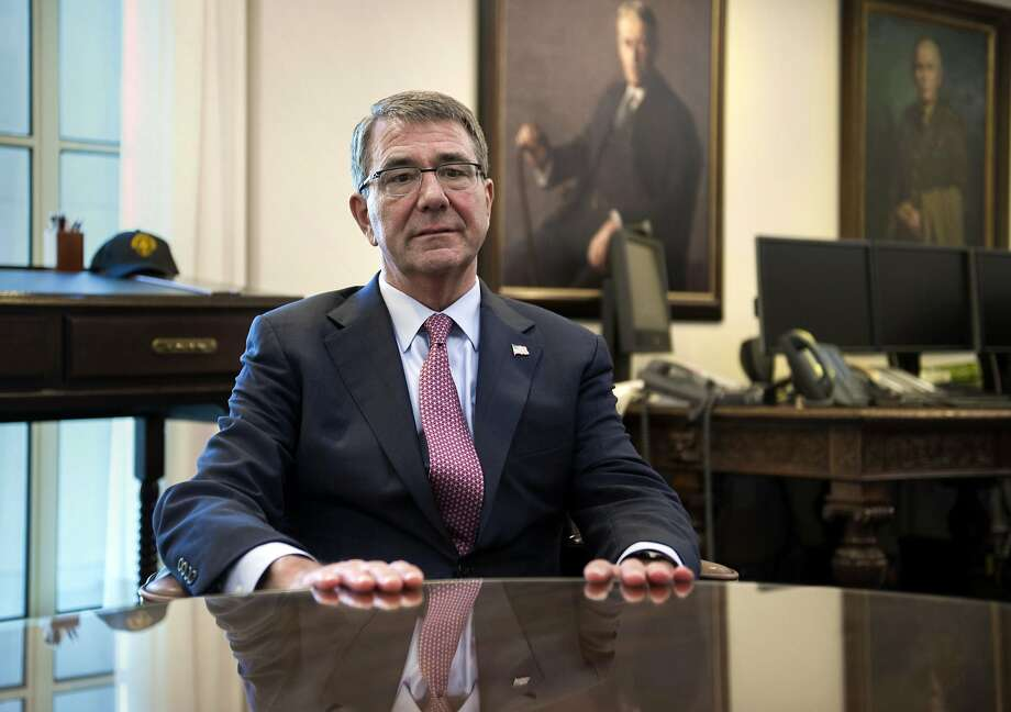 Secretary of Defense Ash Carter believes local Iraqi and Syrian forces should set the pace of the wars. Photo: Cliff Owen, Associated Press