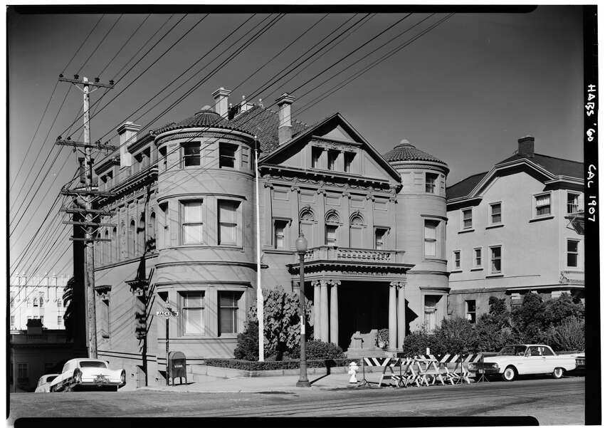 The Whittier Mansion, located on Jackson Street at Laguna, in San Francisco, once was home to the Nazi Consulate.