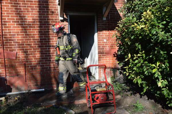 Firefighters on Jan. 19 battled an apartment fire at a complex in the 300 block of Cropsey Avenue in San Antonio's Southwest Side. The fire was reported around 2:15 p.m. and had been extinguished by 2:30.