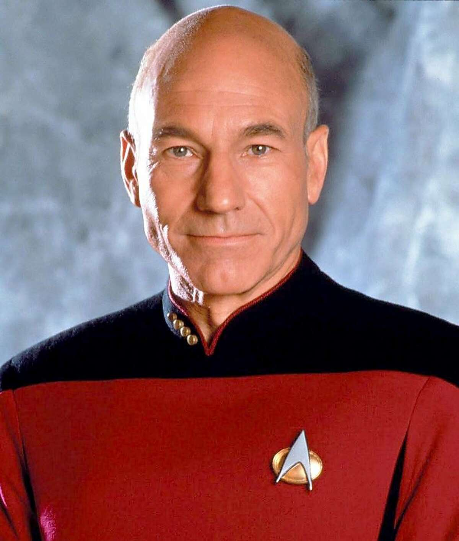 Patrick Stewart (Capt. Jean-Luc Picard of