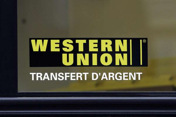 On Jan. 19, 2017, the U.S. Department of Justice announced penalties of $586 million against Western Union for violations of federal anti-fraud and money-laundering laws between 2004 and 2012. Photographer: Jean-Claude Coutausse/Bloomberg News