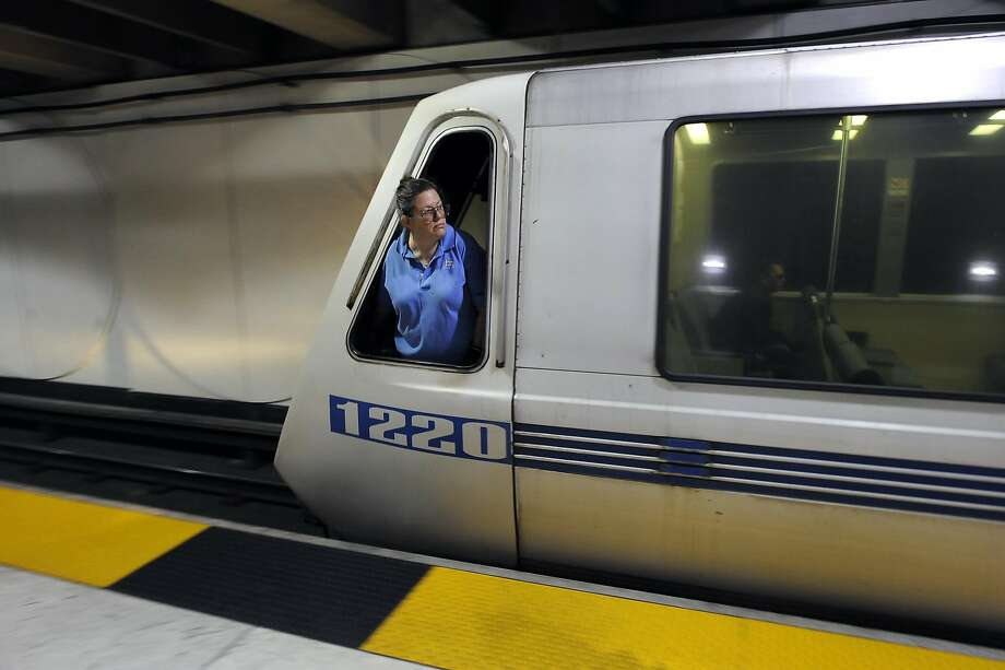 Plans for the BART system caught readers' attention. Photo: Michael Short, Special To The Chronicle