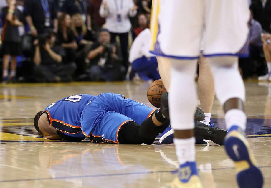 National Basketball Association to review Pachulia foul, Westbrook comments