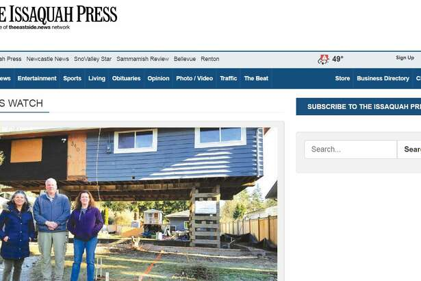 The Issaquah Press website.