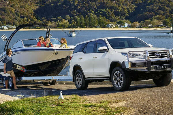 The Toyota Fortuner SUV is sold in Australia but not the United States.