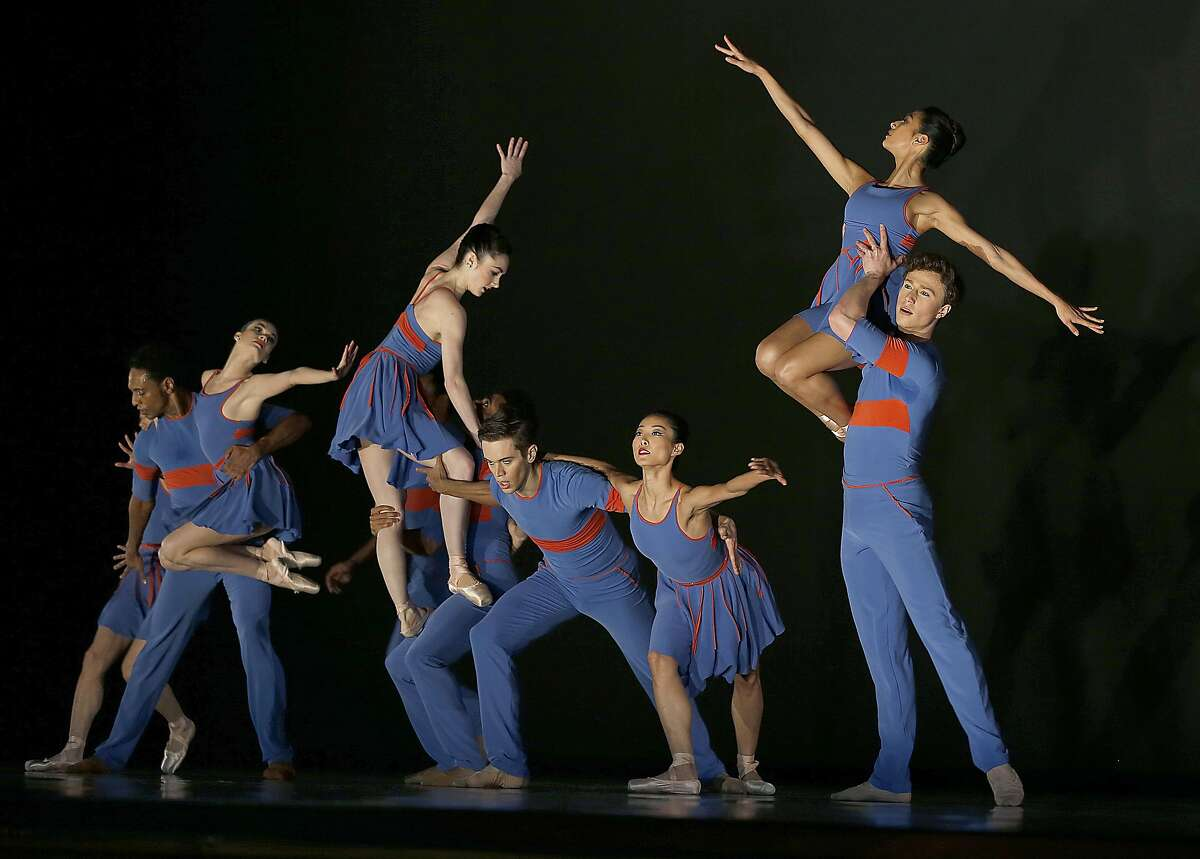 Dress rehearsal of San Francisco Ballet's season opening gala with world premiere 'The Chairman Dances' choreographed by Benjamin Millepied on Thursday, January 19, 2017, in San Francisco, Calif.