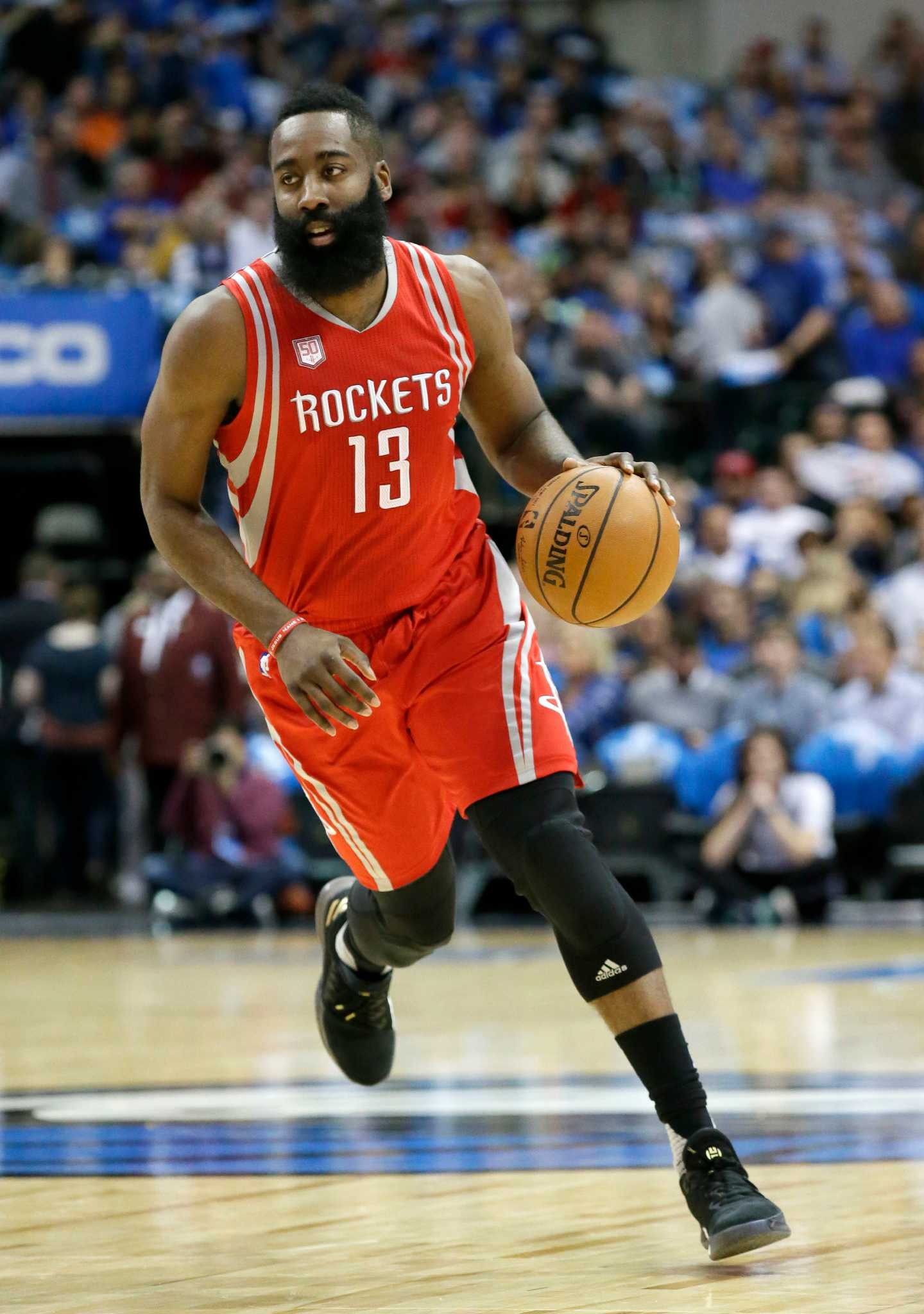 Rockets' James Harden earns starting berth in NBA All-Star Game