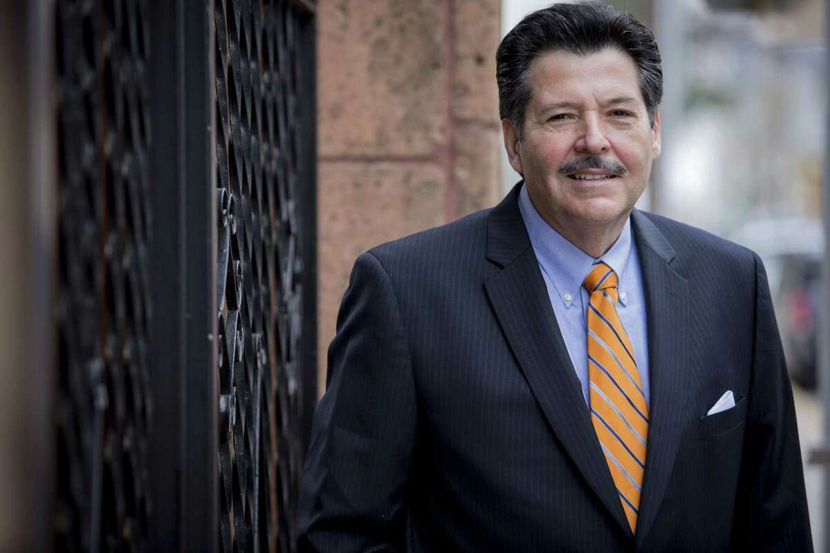 Laredo mayor Pete Saenz is pictured. Keep clicking through the gallery to see who represents each district on the Laredo City Council.