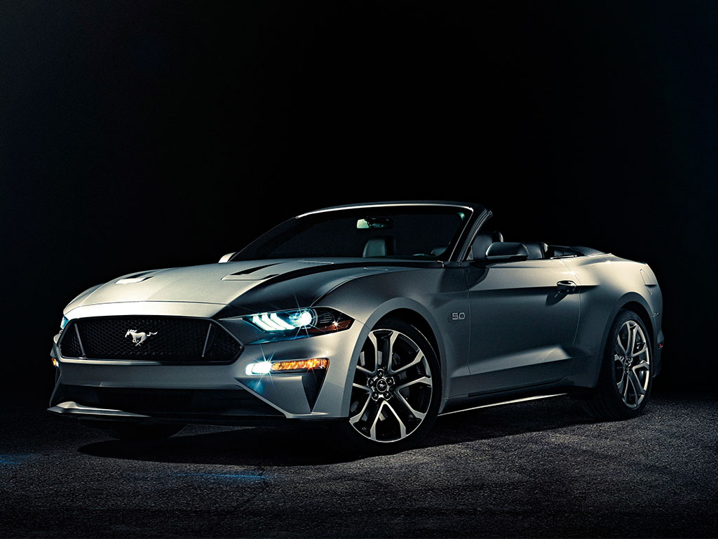 Ford reveals the all-new Mustang