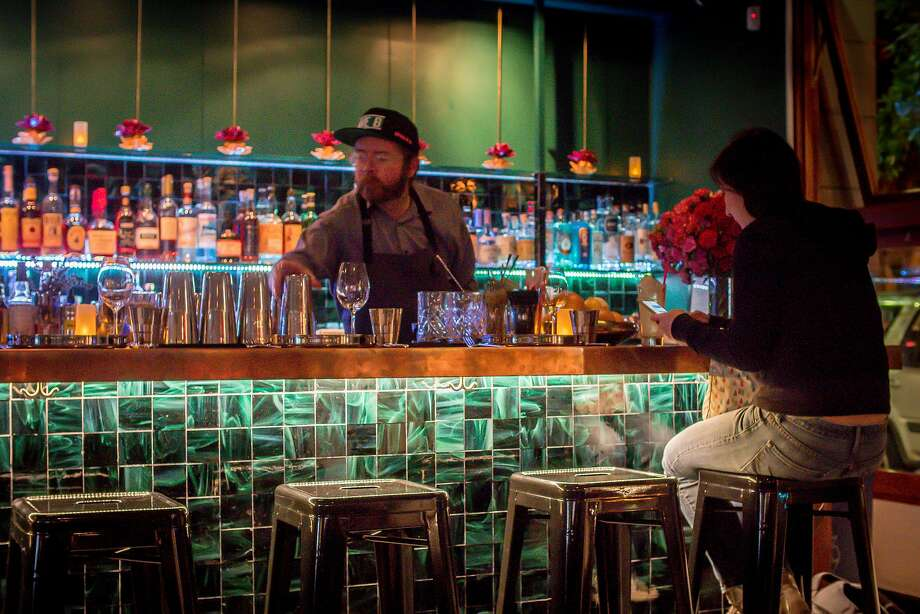 The bar at Babu Ji in San Francisco is seen on January 19th, 2017. Photo: John Storey, Special To The Chronicle