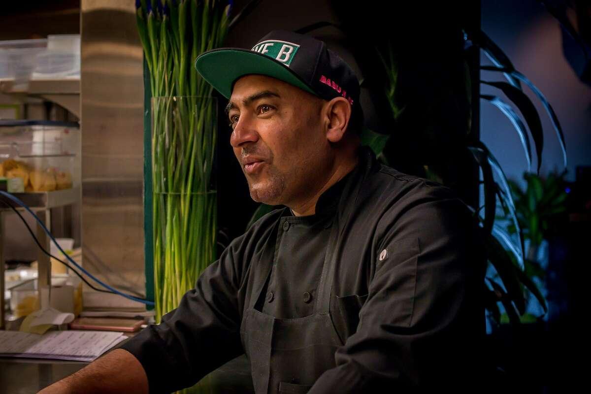Chef owner Jessi Singh of Babu Ji in San Francisco is seen on January 19th, 2017.