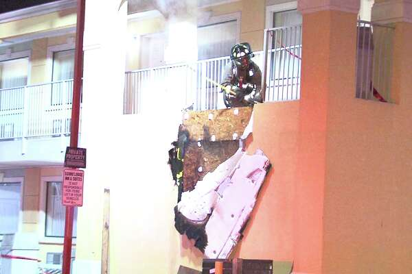 A fire broke out at an EconoLodge Inn & Suites Jan. 20, 2017, in the 2700 block of Interstate 35 North.