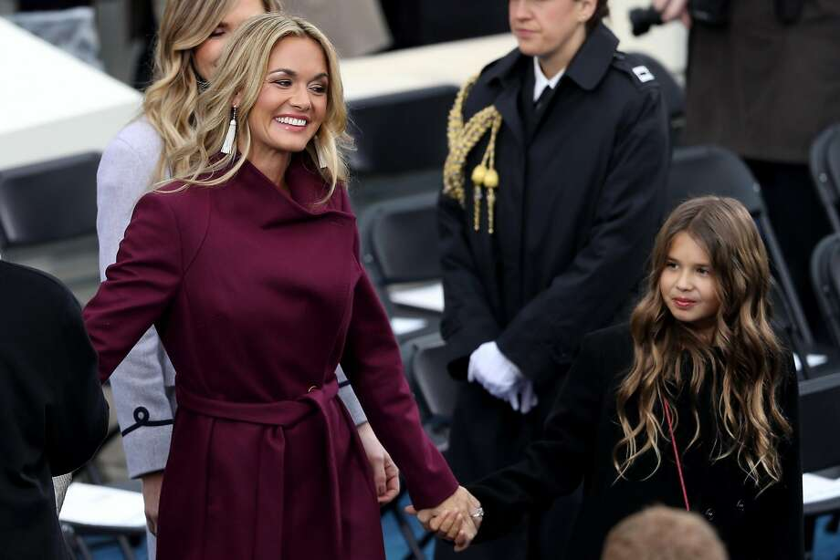 FILE — Vanessa Trump arrives on the West Front of the U.S. Capitol on January 20, 2017 in Washington, DC. Police say Vanessa Trump, Donald Trump Jr.'s wife, opened an envelope that contained white powder, felt ill and was taken to New York City hospital. Photo: Joe Raedle, Getty Images