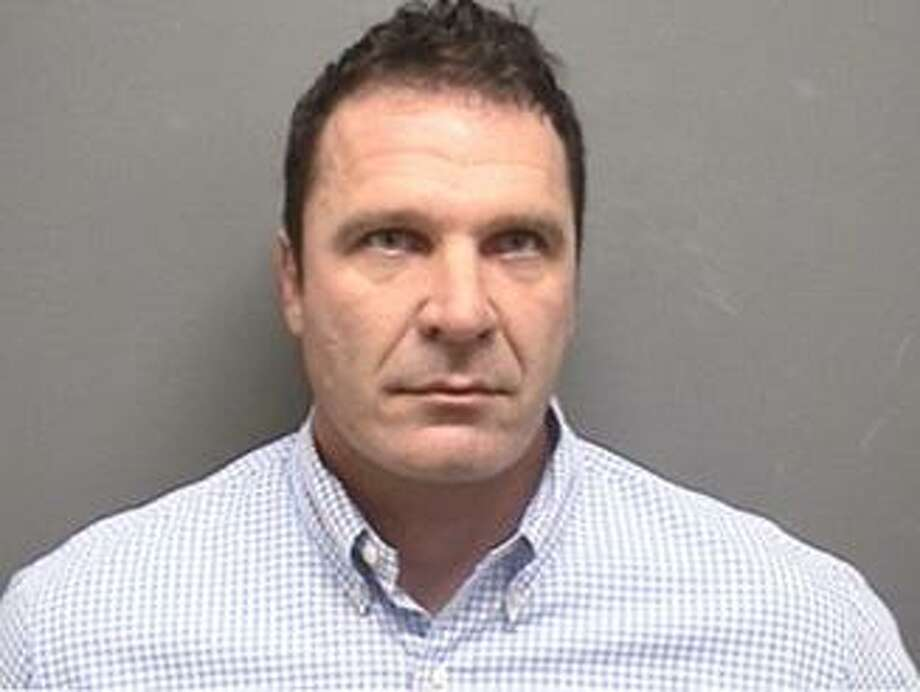 Christopher Aikler, 44, of Bayne Street in Norwalk, CT was arrested on Jan. 11, 2017 for assaulting two men in a bar fight in Darien, CT. Photo: Erin Kayata / Hearst Connecticut Media / Darien News
