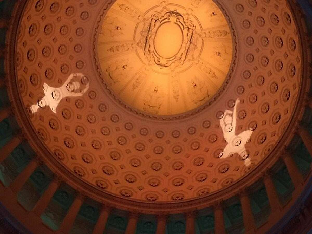 Ceiling of City Hall for