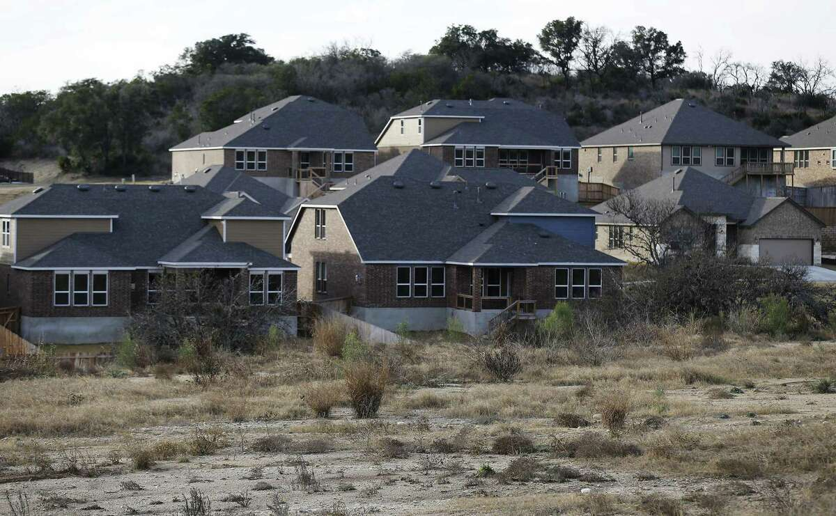 New subdivisions are slowly dotting the landscape of West Bexar County on Jan. 18, 2017. Such growth will continue to fill area roads, which is why legislation enabling a vote in Bexar County on a new funding source is important.