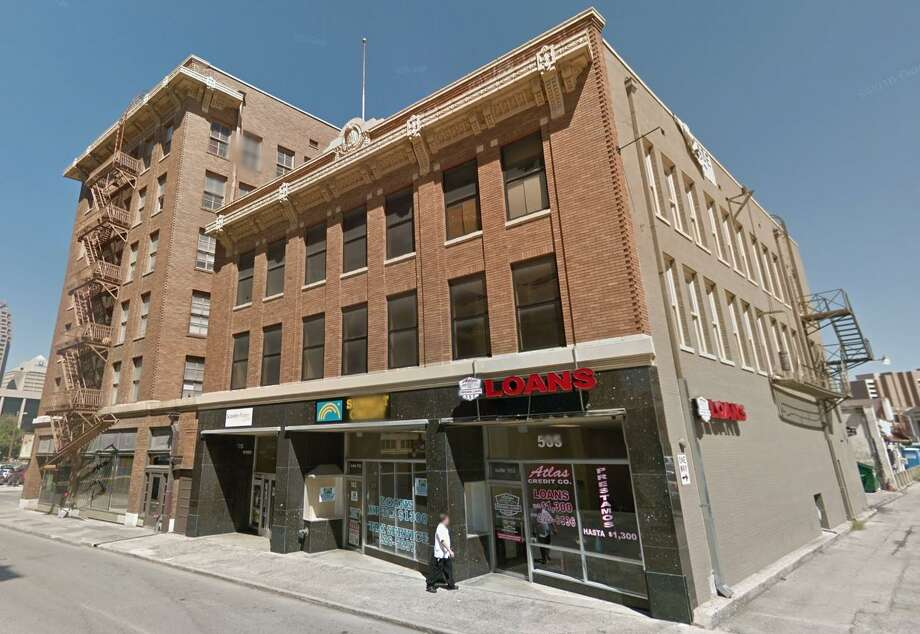 The building at 505 E. Travis St. served as the headquarters of the defunct San Antonio Light newspaper when it was built in 1914. Photo: Google Maps