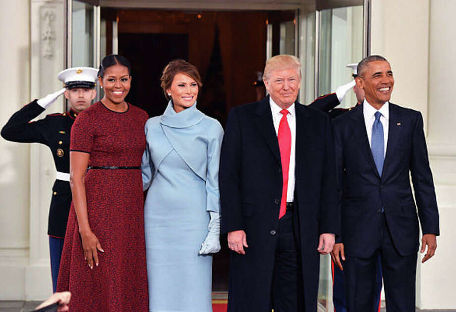 President Obama had a 68 percent approval rating, with only 12 percent disapproving, in post-inaugural 2009 Gallup survey.  President Trump gets far lower approval, at 45 percent, with 45 percent registering disapproval.  / 2017 Getty Images