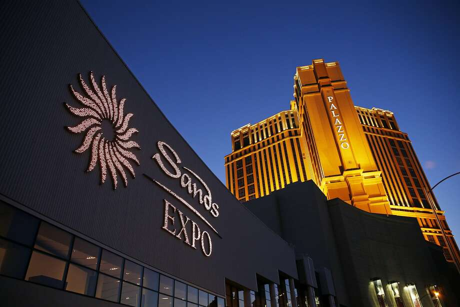 The Sands Expo and Convention Center in Las Vegas is part of Sheldon Adelson's casino company. Photo: John Locher, Associated Press