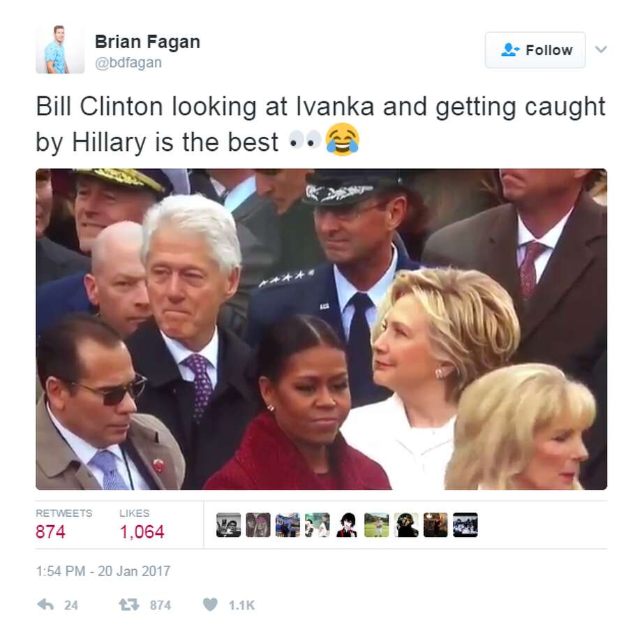 Hillary Clinton Latest News: 7 Funny Inauguration Day Moments You May Have Missed