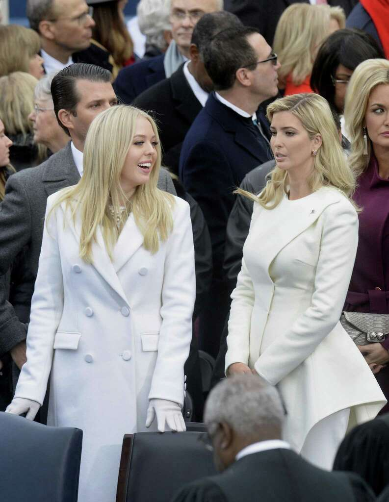Tiffany Trump And Ivanka Attend The 58th Presidential Inauguration On Jan 20 2017