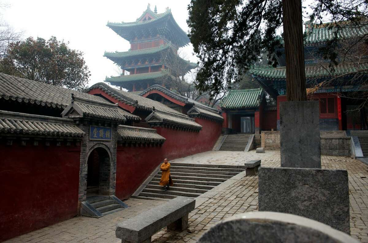 The Shaolin Temple in Henan province, China