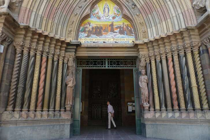 The Iglesia de Los Capuchinos in Cordoba is a neo-Gothic landmark with plenty of eye-catching features, not the least of which is the entryway in a rainbow of colored stone.