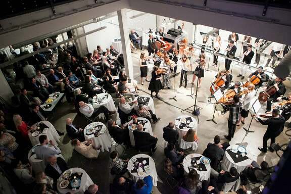 The conductor-less chamber orchestra One Found Sound plays in informal settings. Concerts run no more than an hour.