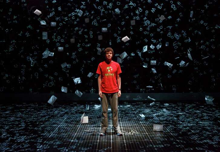 """The Curious Incident of the Dog in the Night-Time"" is designed to highlight internal perspectives of its protagonist, played by Adam Langdon."