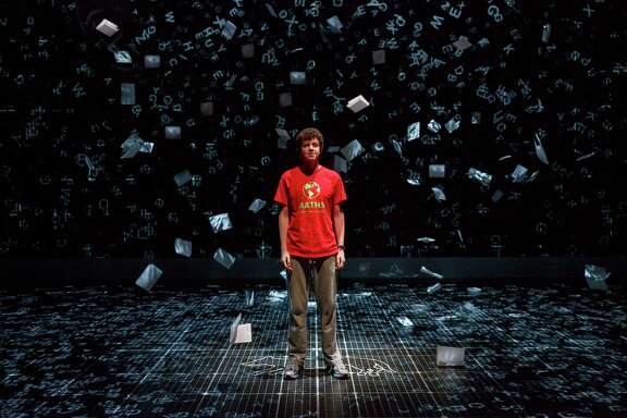 """""""The Curious Incident of the Dog in the Night-Time"""" is designed to highlight internal perspectives of its protagonist, played by Adam Langdon."""