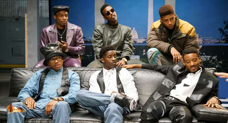 "BET's ""The New Edition Story"" follows the rise to fame of one of R&B's greatest boy-band acts."