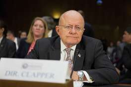 James Clapper, Director of National Intelligence, testifies during a Senate Armed Services Committee hearing on Russian intelligence activities. A reader indicates the hacking controversy is much ado about nothing.