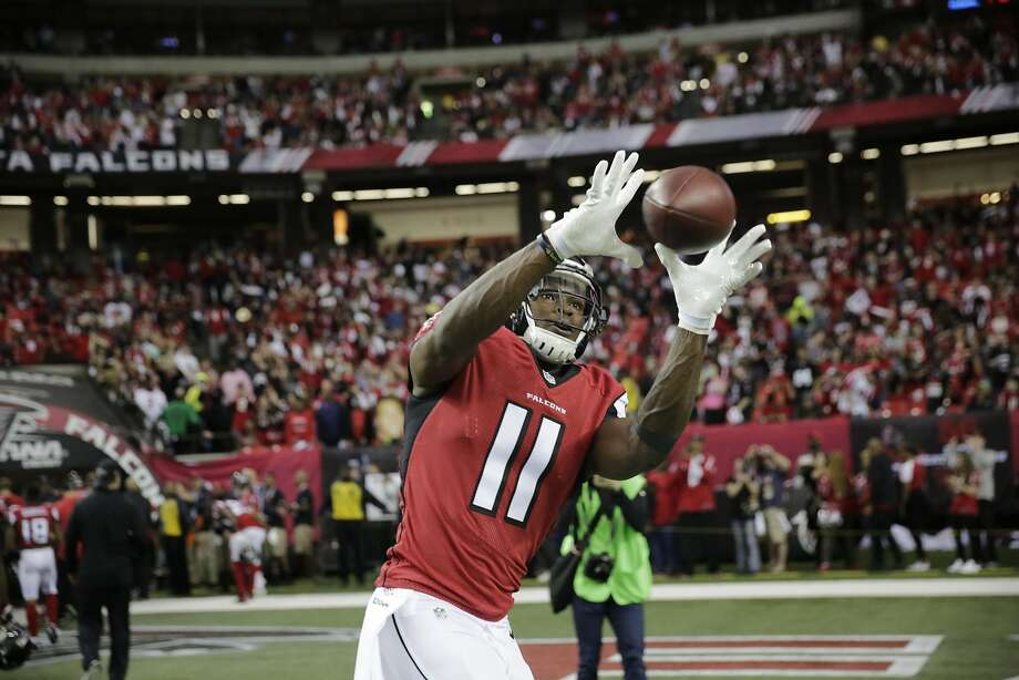 All Pro wide receiver Julio Jones will be just one of Matt Ryan's targets. Photo: David Goldman, Associated Press