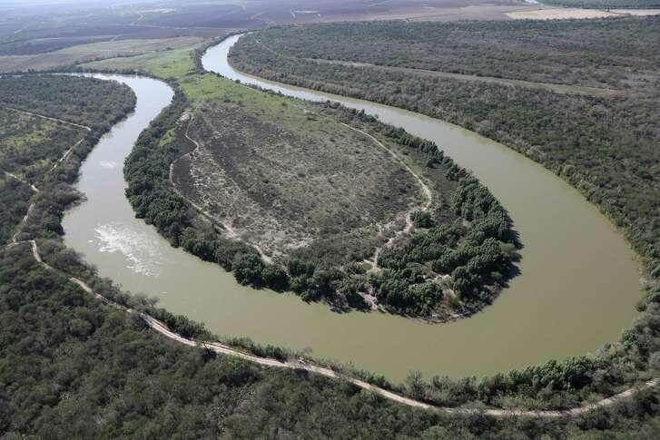 The Rio Grande snakes along the U.S.-Mexico border near McAllen, Texas.   (Photo by John Moore/Getty Images)