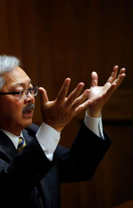 Mayor Ed Lee sees opportunities ahead. Photo: Leah Millis, The Chronicle