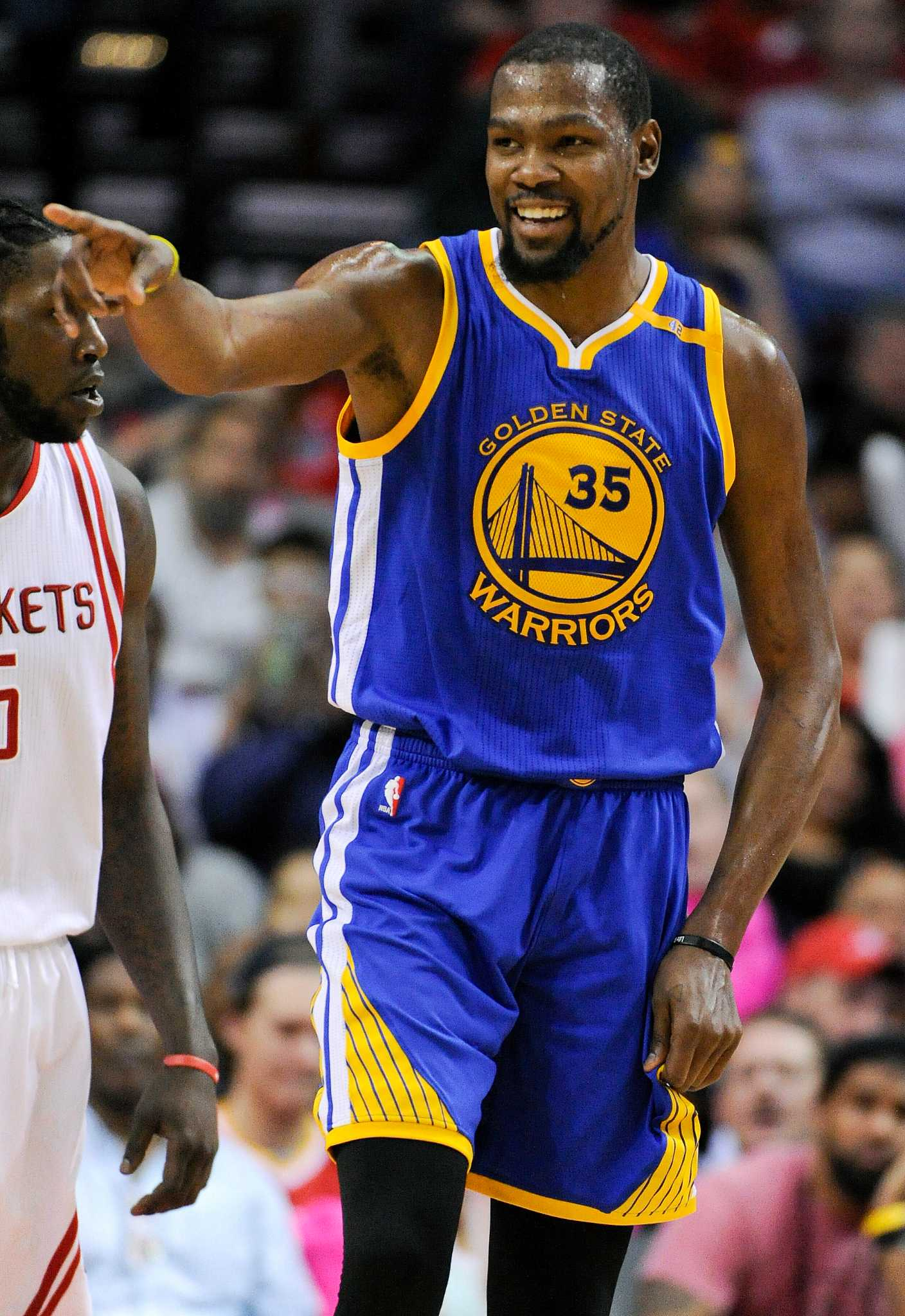 Durant, Warriors slow Rockets