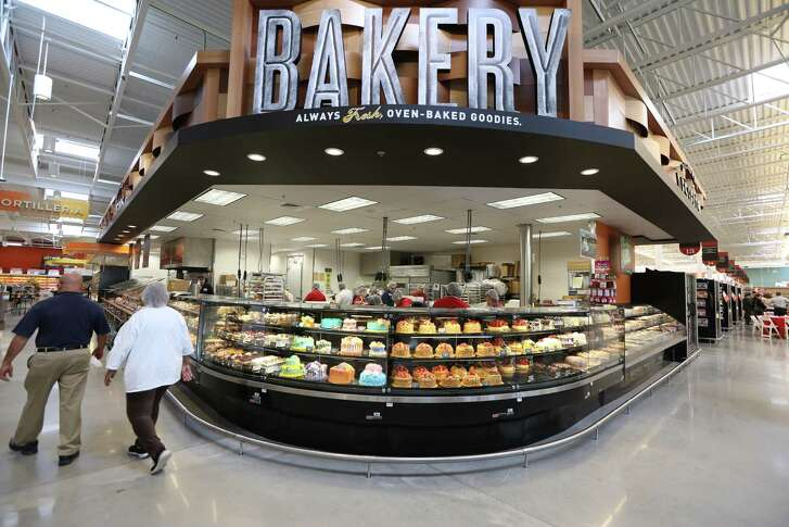H-E-B in Clear Lake Marketplace, with 106,000 square feet, opened in February.