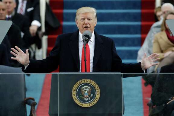"President Donald Trump said in his inaugural address that he will end ""this American carnage"" of poverty, crime, drugs and unemployment."
