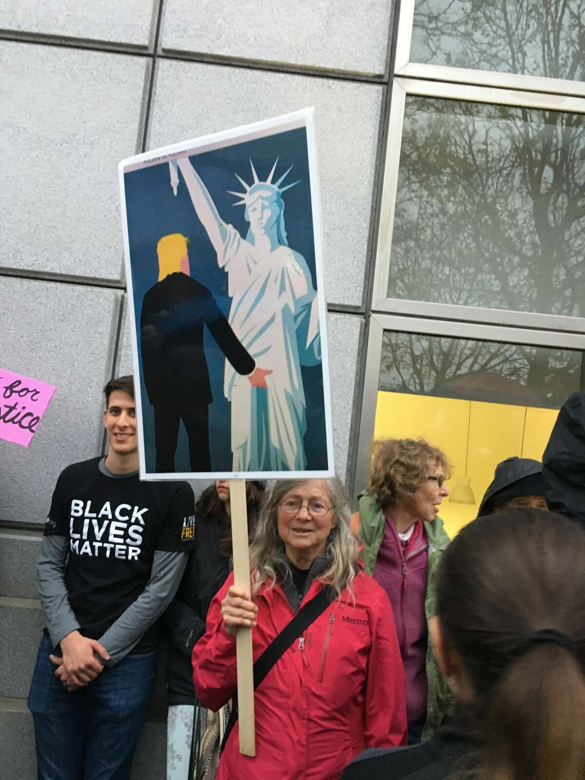 Signs at the San Francisco Women's March on Jan. 21, 2017