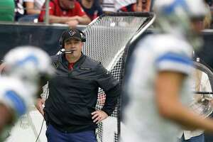 Texans coach Bill O'Brien will return to calling offensive plays after another 9-7 season leaves him with a career regular-season record of 27-21 three years into a five-year contract.