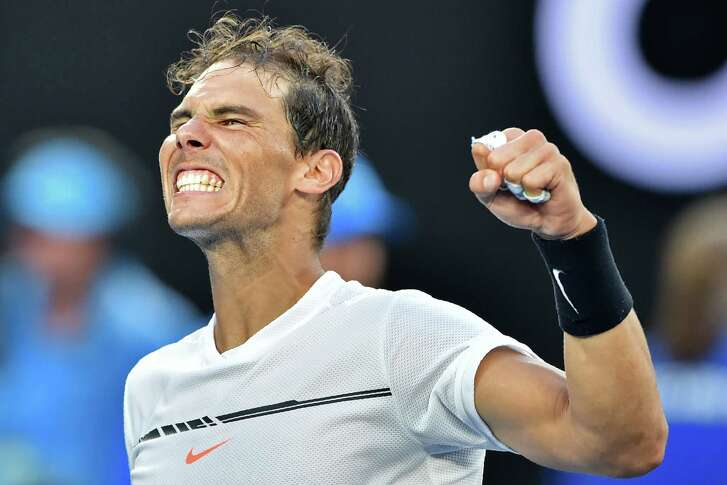 A strong finish helped Spain's Rafael Nadal extend his Australian Open stay with a 4-6, 6-3, 6-7 (5), 6-3, 6-2 victory over 19-year-old German Alexander Zverev.